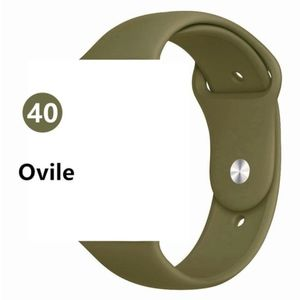 NEW[BAND] Olive Sport Silicone For Apple Watch